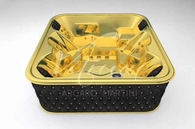 Worlds First 24 Carat Gold Bathtub Is Available
