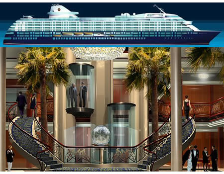 Magellan residential cruise liner A Paradise on Seas