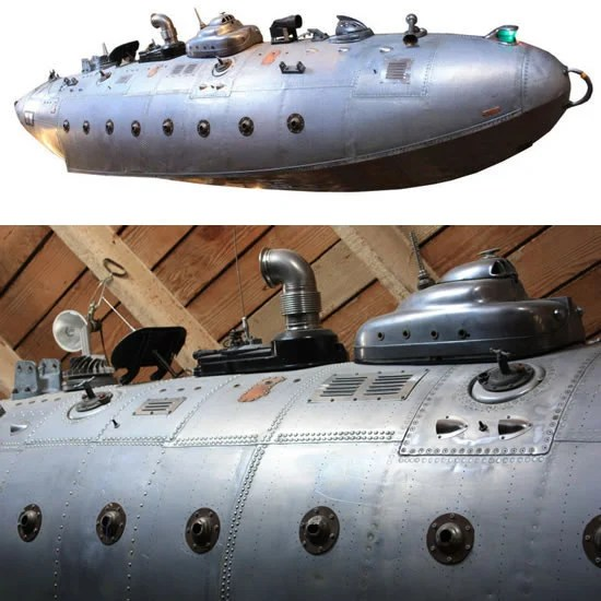 Fantasy Submarine for an outofthesea themed decor