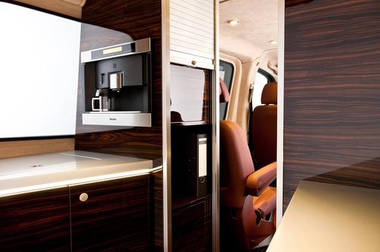Hartmann Mercedes Sprinter gets an interior inspired by