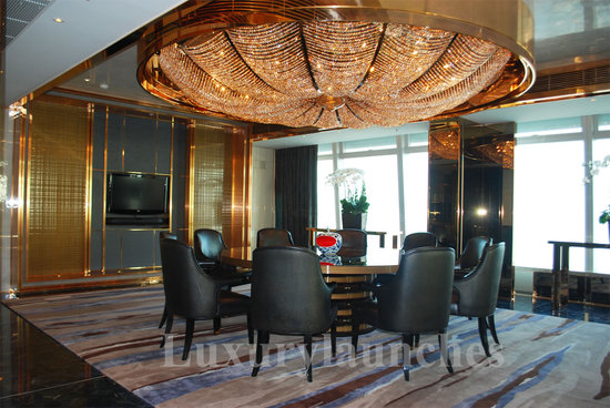 The RitzCarlton Hong Kong Presidential Suite  A sneak