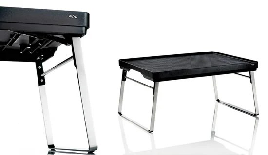 Vipp Mini Table is a versatile yet stylish multiuse bed