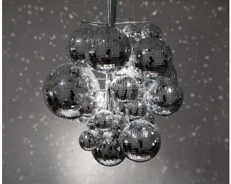 Confetti Light A Disco Ball Chandelier