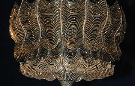 Solange Azagury Partridge Gold And Diamond Chandelier Wows All At Miami Design