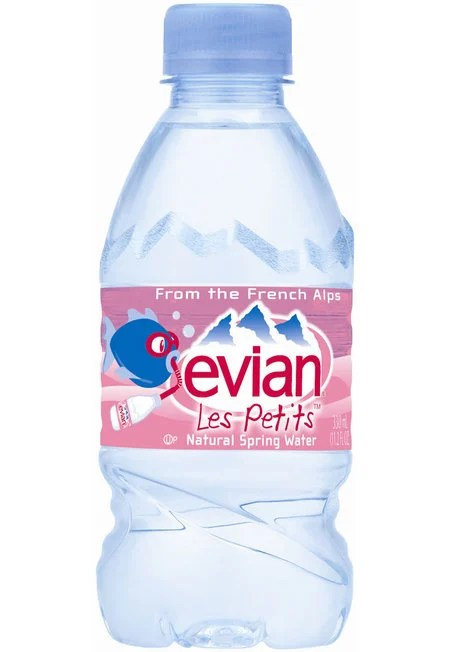 Evian Les Petits natural spring water keeps your kid