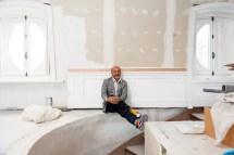 Peek Christian Louboutin' Home And Studio