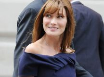 Carla Bruni Sarkozy models for Bulgari's new jewelry ad ...