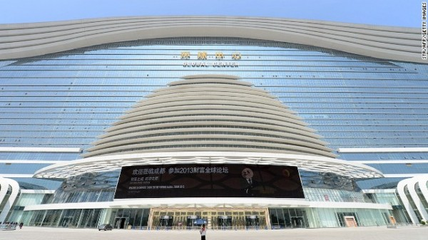 china builds the worlds largest building its is thrice the size of the pentagon