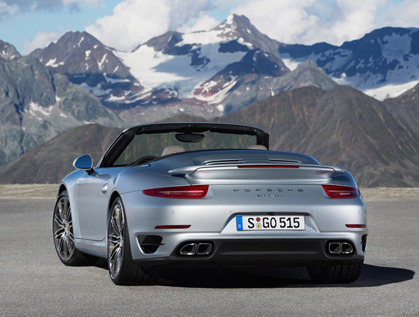 Porsches Most Powerful Cabriolet The 911 Turbo And Turbo