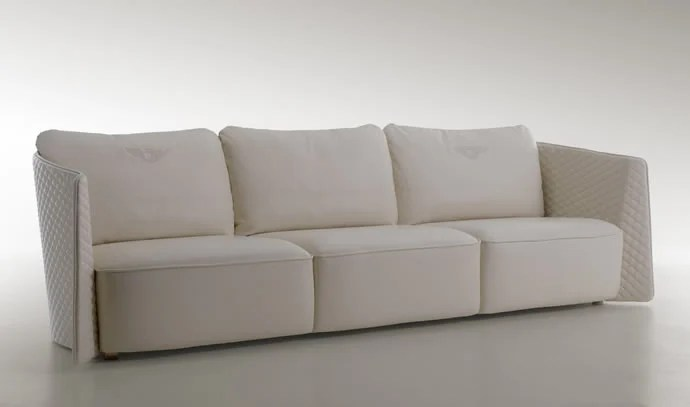 bentley leather sofa reviews brighton reading sofascore debuts home collection, luxurious furniture for ...