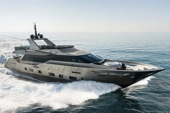Luxury Yacht Zahraa is the mother lode of all stylish