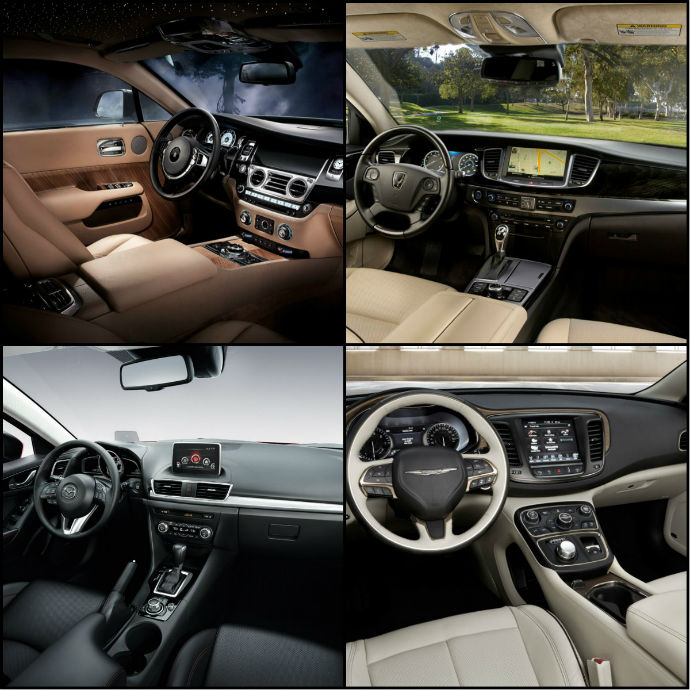 10 cars with the best interiors for 2014