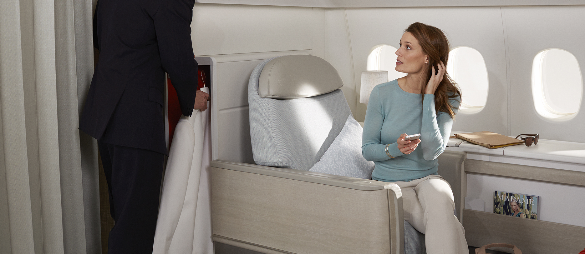 Air France joins the race for luxury supremacy in air unveils La Premiere first class suites