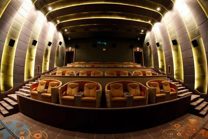 Bangkoks newest luxury cinema comes complete with mini