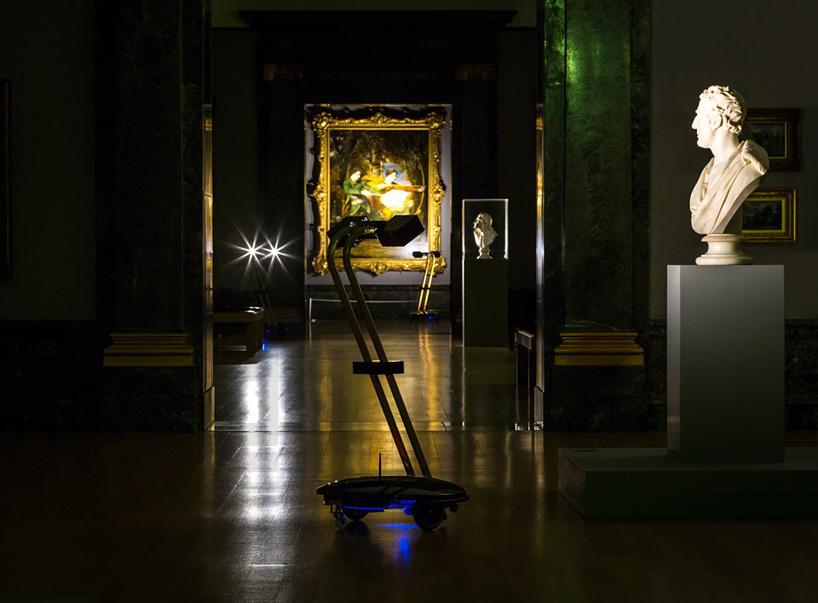 Explore Britains Tate museum after dark using self