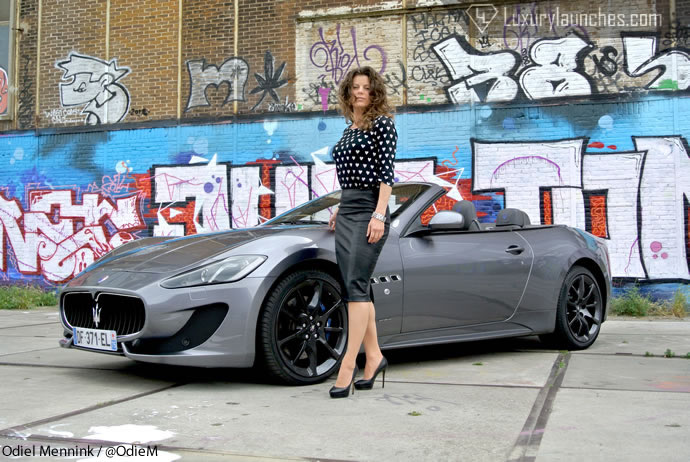 We review the Maserati Gran Cabrio Sport and boy she is