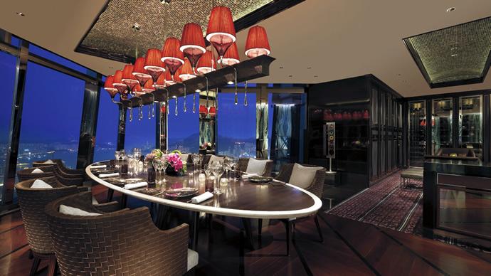 Tosca at Ritz Carlton Hong Kong Review