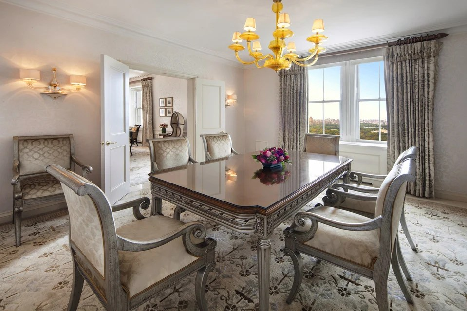 Pierre Hotels presidential suite is New York Citys most