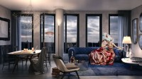 Steampunk themed luxury condos at Hudson Square