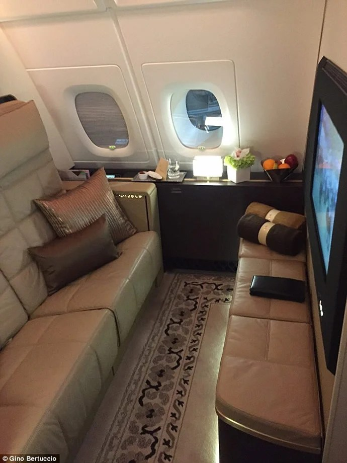air sofa bed in abu dhabi ottoman brisbane luxe the - here is what its like to fly etihad's ...