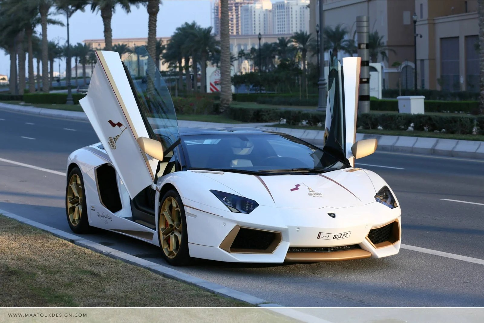 Meet the oneoff gold plated Lamborghini Aventador