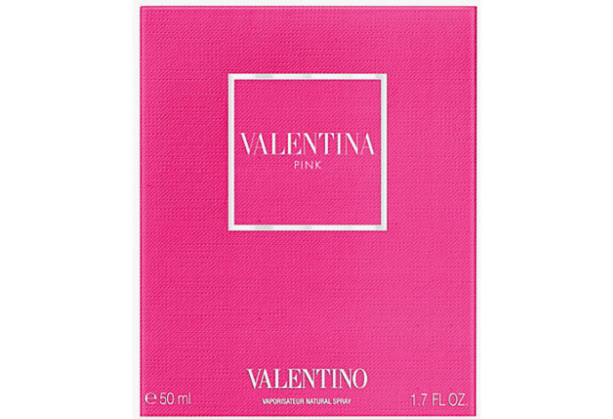 Valentino Brings Pink Spring To Womens Fragrance In A