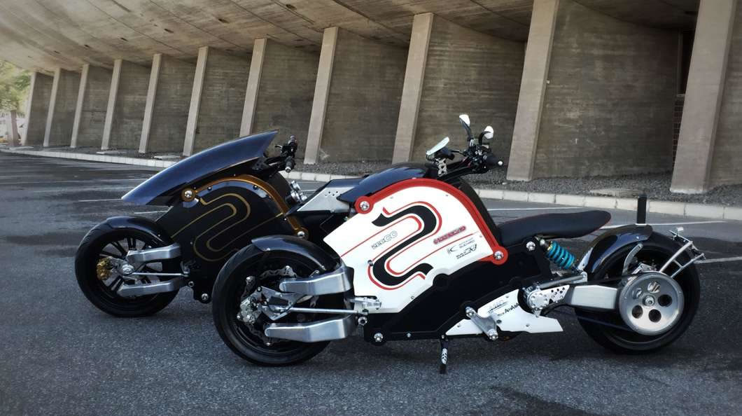 The brutally ecoefficient zec00 electric motorcycles hits