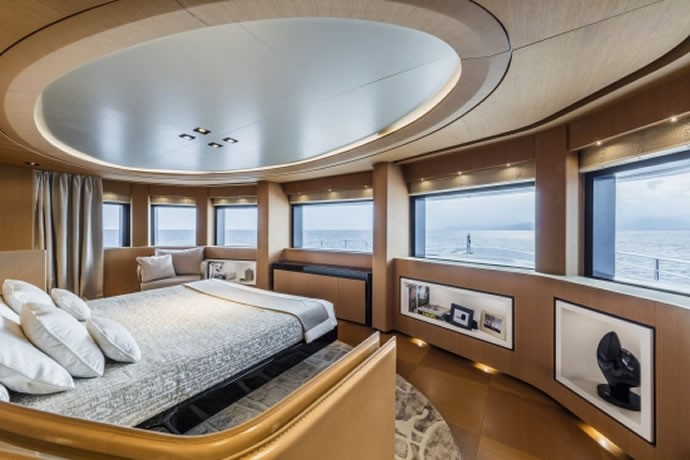 A Look Inside The Ultra Luxurious 228 Foot Long Suerte Yacht