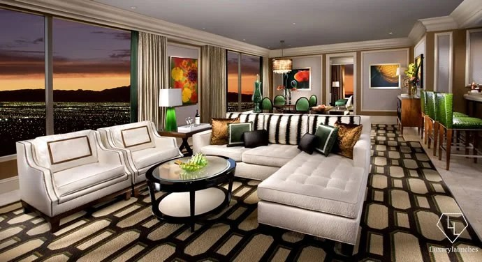 Suite of the week  Bellagio Penthouse Suite at The