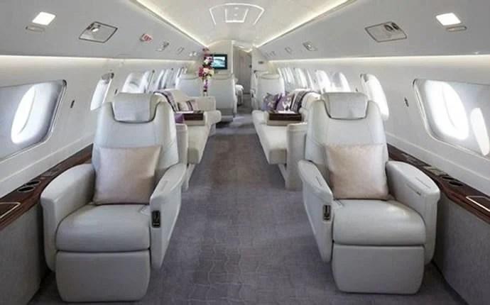 Take a peak inside the 52 million Embraer Lineage 1000E private jet