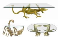 Fancy a larger than life creepy crawly coffee table for
