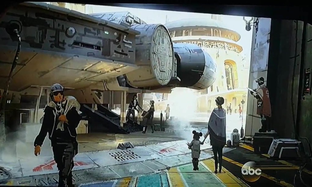 Control the Millennium Falcon and chill with aliens  New photos of Disney Star Wars park unveiled