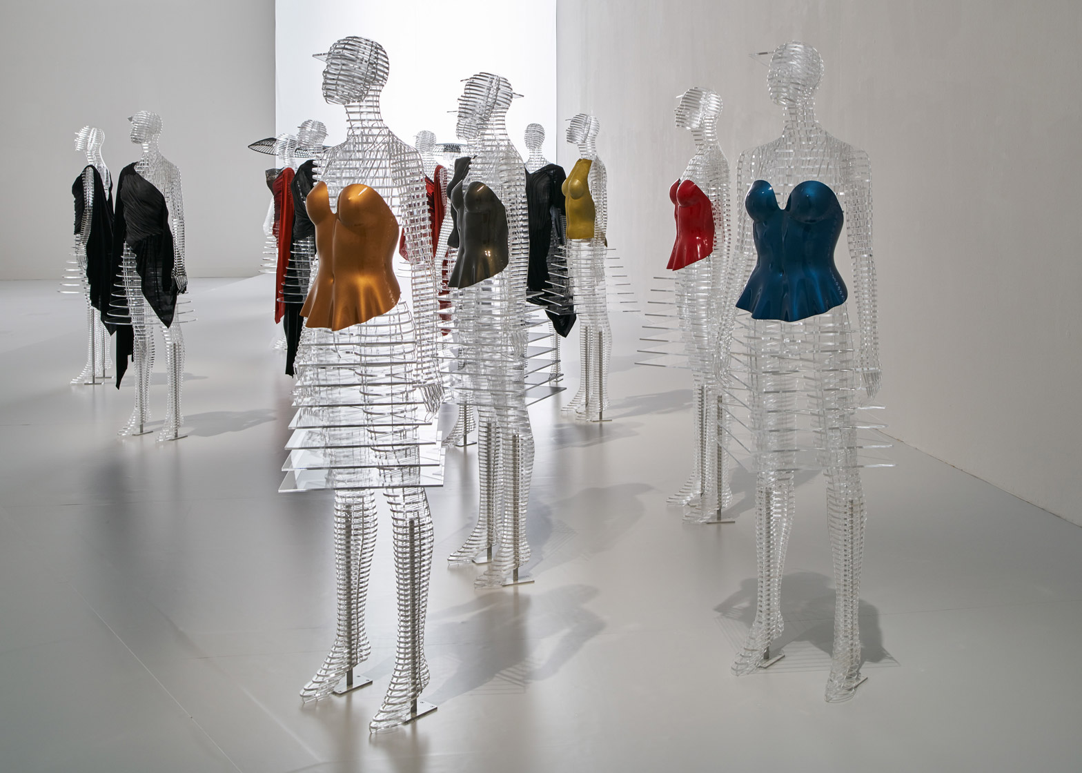 45 years of Issey Miyake designs are on display in a