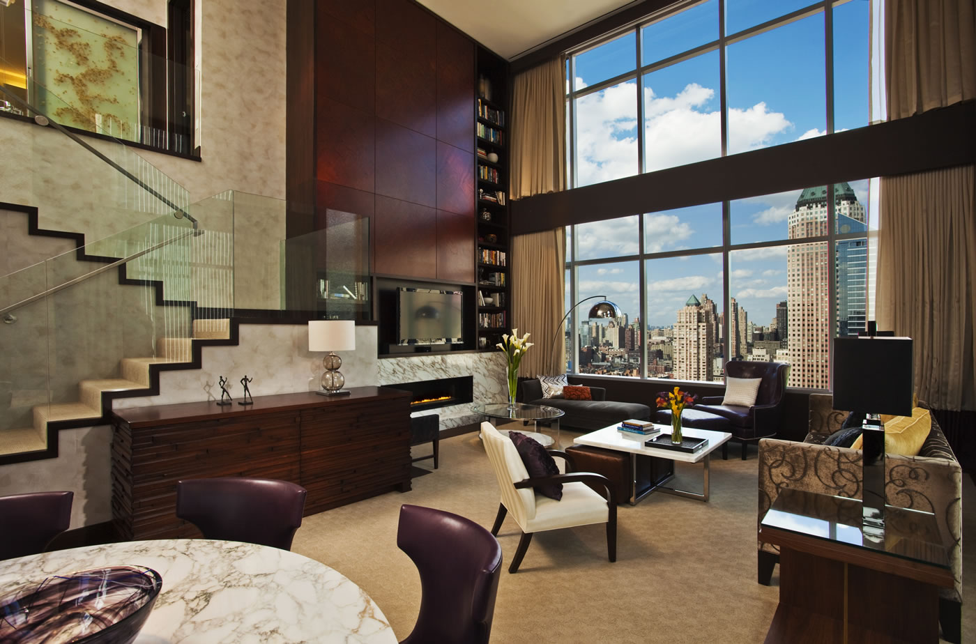 hotel with kitchen new york pool table combo in a mood to splurge here are the 7 most decadent suites