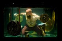 Eerie Techno Music World Underwater Band