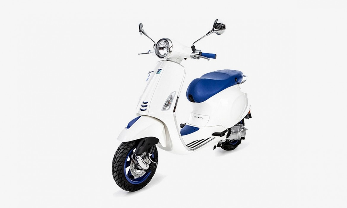 Vespa partners with French boutique Colette for one of a