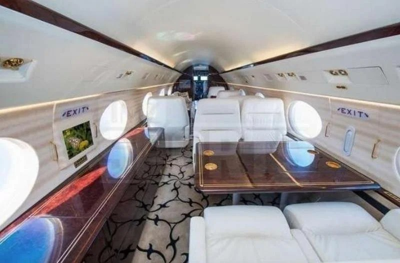 Inside Floyd Mayweathers swanky new private jet