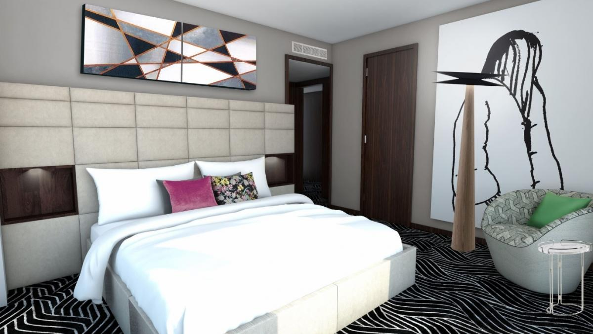 Take a look at the new Roche Bobois suites at Langham