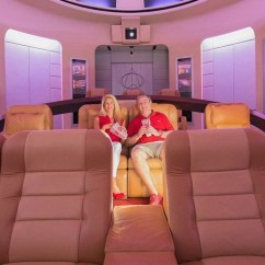 Cool Chairs For Room Target Wooden Inside The $1.5 Million Star Trek Themed Home Theater That Took 4 Years To Build