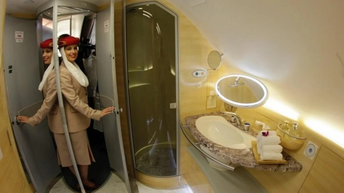 Business class passengers on Emirates may soon be able to