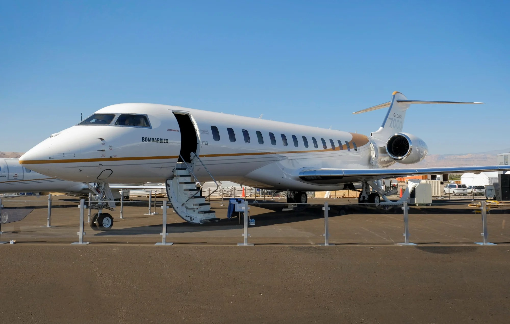 Bombardiers Global 7000 Private Jet Takes Business Travel