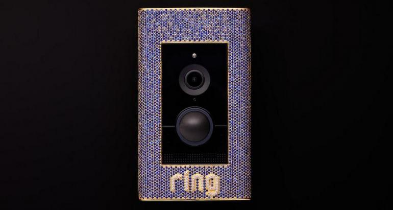 ring doorbell for sale sequence diagram and collaboration in the bling! this sapphire diamond encrusted is selling $100,000