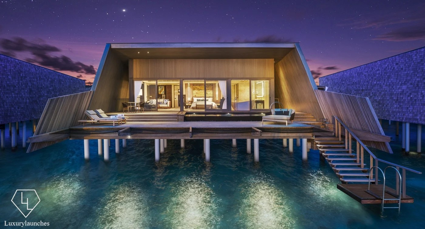 Suite of the Week  The mesmerising sunset overwater villa