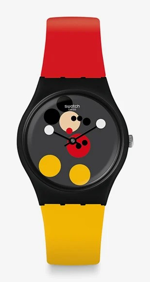 Swatch and Damien Hirst join forces for limited edition Mickey Mouse watches