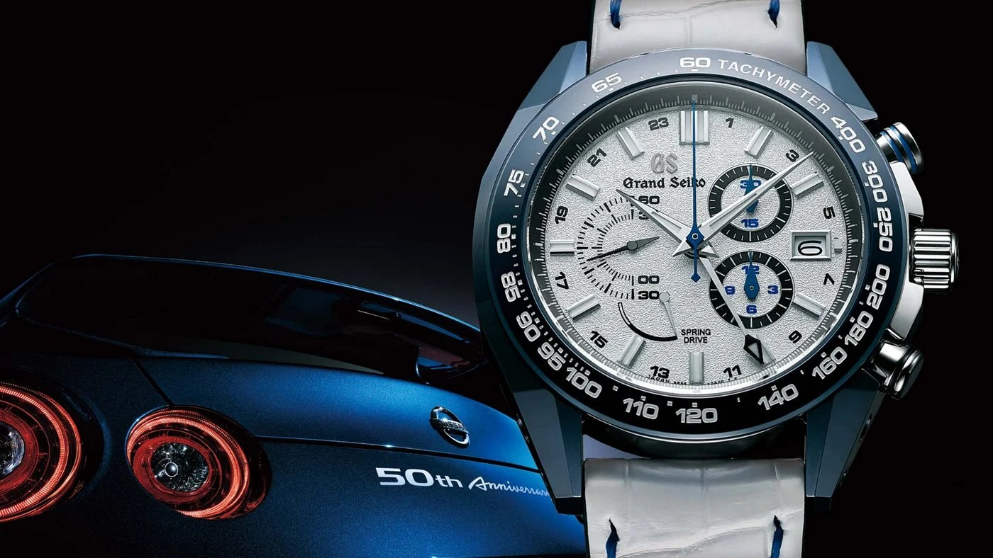 This Limited Edition Grand Seiko Celebrates 50 Years Of