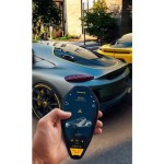 The 1 9 Million Koenigsegg Gemera Hybrid Supercar Gets A Key Fob Concept That Puts A Stylish Smartphone Into A Physical Key Luxurylaunches
