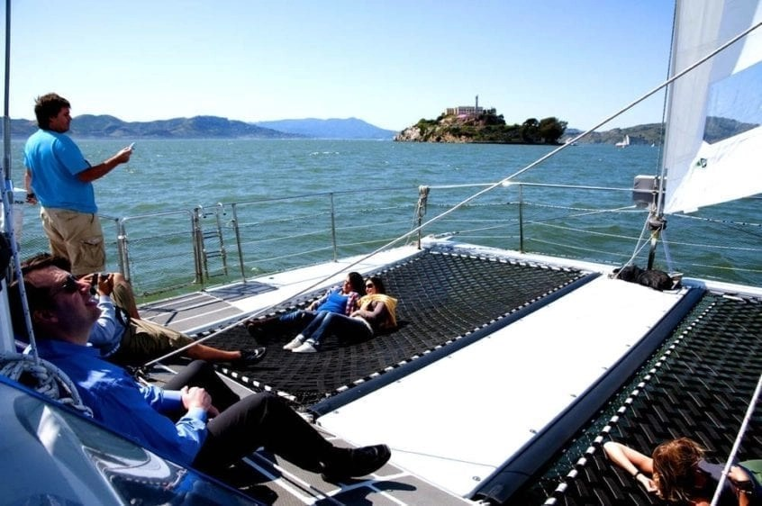 SAN FRANCISCO CATAMARAN RENTAL 65 CATAMARAN