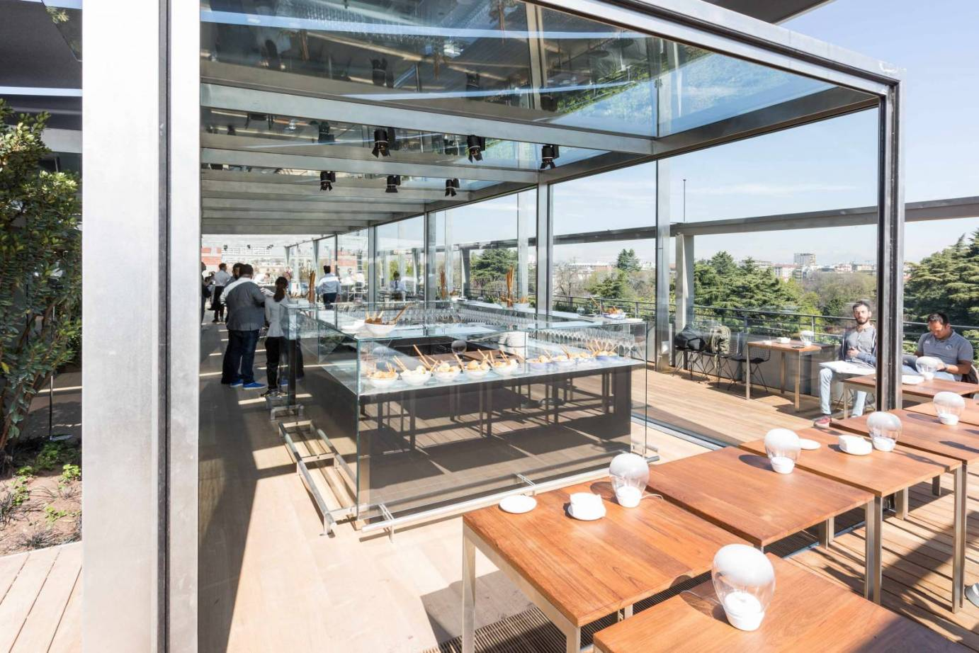 Terrazza Triennale Would You Go Back To The Restaurant In Which You Just Ate