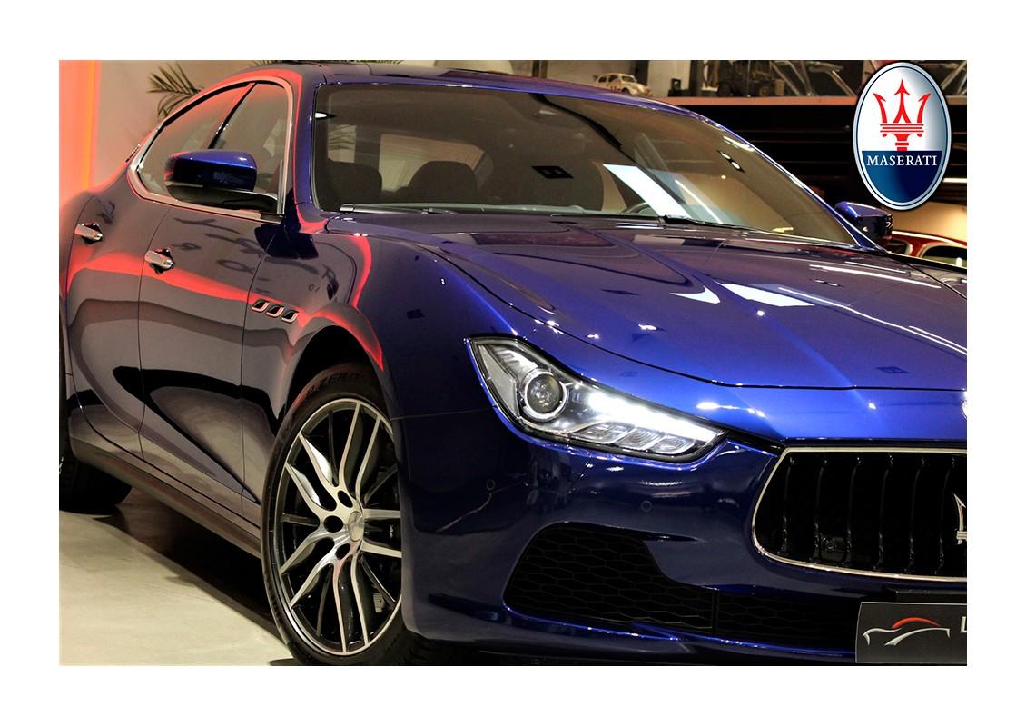 MASERATI Ghibli S Q4 3.0 V6 BT AWD - Luxury Motor