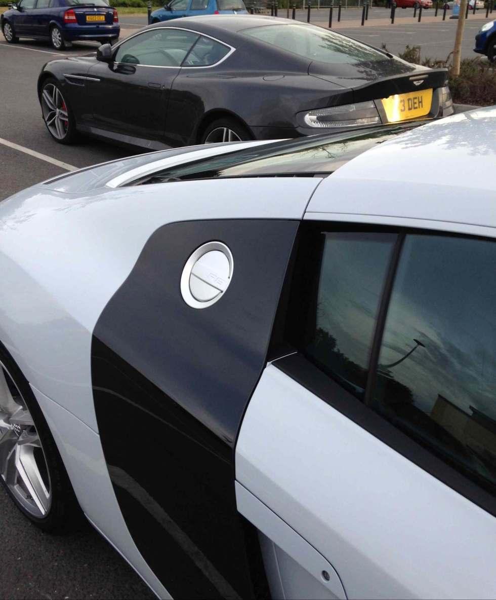 Audi R8 club member